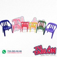 silla infantil apilable