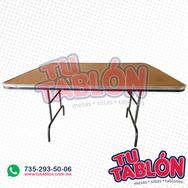 Mesa cuadrada 150x150 cm cubierta de  fibra de vidrio