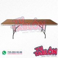 Tablón 240x75cm cubierta de fibracel.