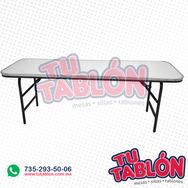 Tablon rectangular infantil 180x50x50 de fibra de vidrio