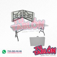 Tablon portafolio 180x75 cubierta de plastico