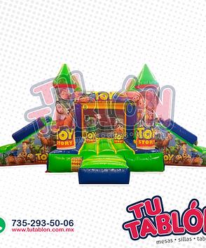 Castillo escalador doble rampa 6x4 toy s