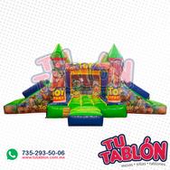 Castillo escalador doble rampa 6x4 toy storie