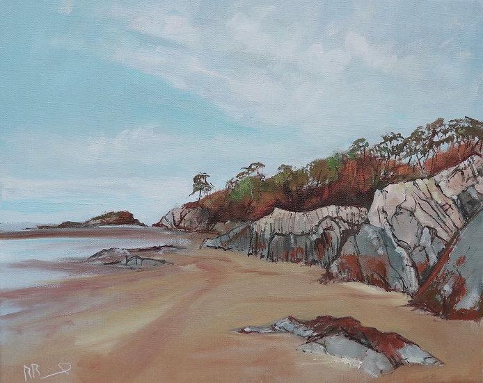"Richard Brinley ""Cardoness"" 33cm x 41cm  , oil on stretched linen canvas"