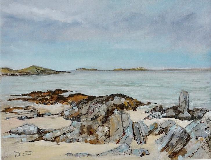 """Sandgreen"" Richard Brinley Giclee print"