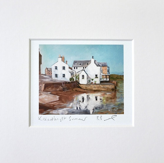 Kirkcudbright Summer mini prin
