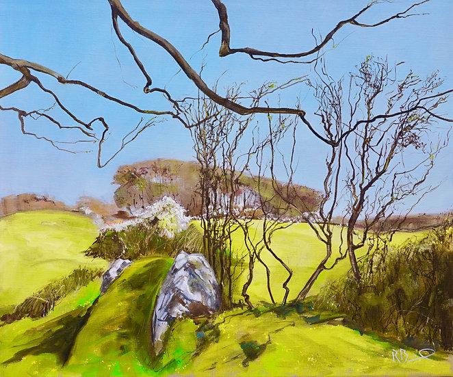 "Richard Brinley ""Spring Greens , Knockbrex Galloway ""Original"