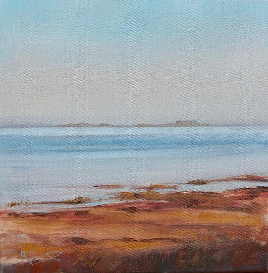 """Winter Dusk , Skyreburn Bay"" Richard Brinley Giclee print"