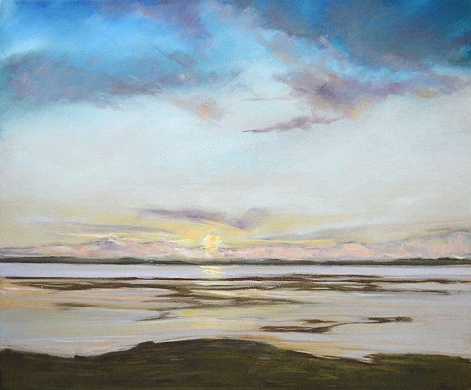 "Richard Brinley ""Sunset on the Cree Estuary"" Giclee Print"