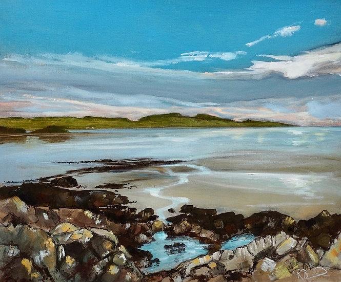 """Evening,  Kirkcudbright Bay"" Richard Brinley Giclee print"