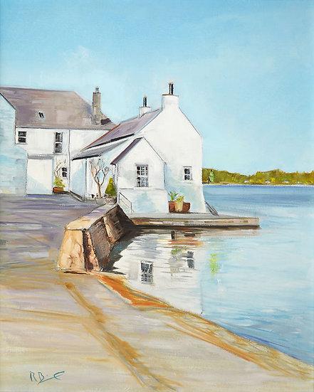 "Richard Brinley ""Shore Cottage , Kirkcudbright""Giclee Print"
