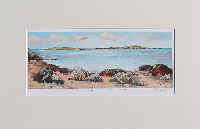 """Murray Isles "" mounted limited edition print"