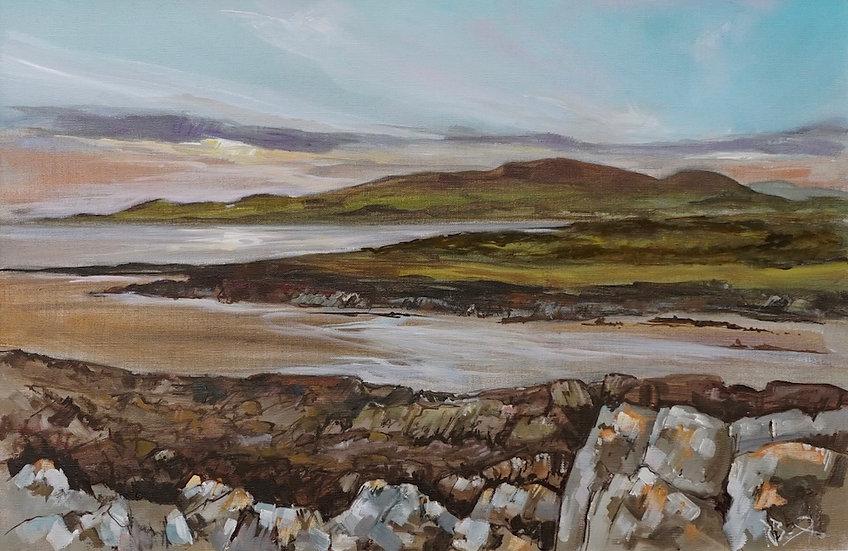 """Low Tide Fleet Estuary"" Richard Brinley mini print"