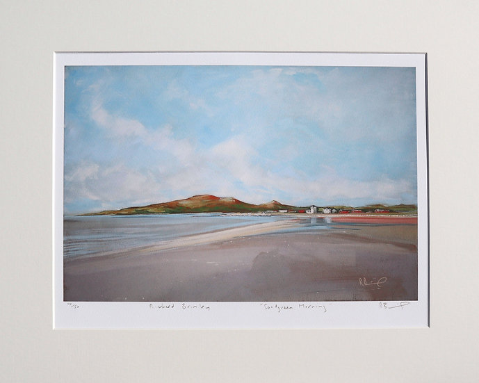 """Sandgreen Morning "" mounted limited edition print"