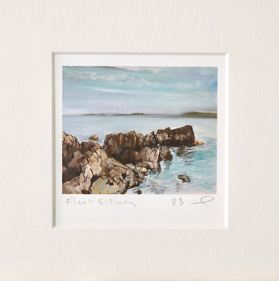 Fleet Estuary mini print