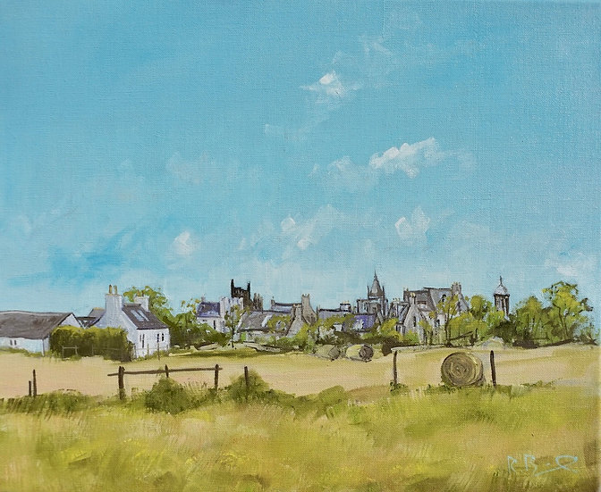 """High Summer , Kirkcudbright "" Richard Brinley Limited edition Print"