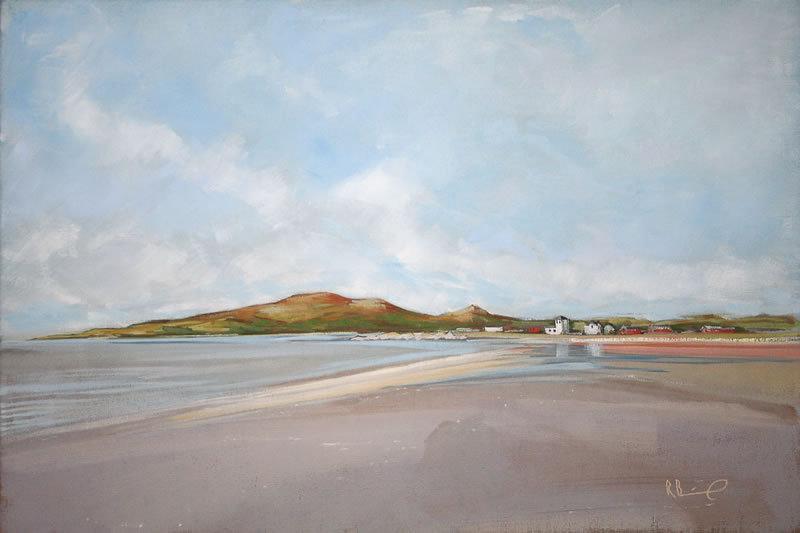 "Richard Brinley ""Sandgreen Morning"" Giclee Print"