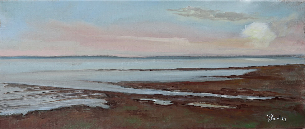 "Richard Brinley ""Dusk , Cree Estuary"" Print coming soon"