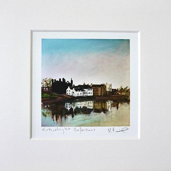 Kirkcudbright Reflections mini print