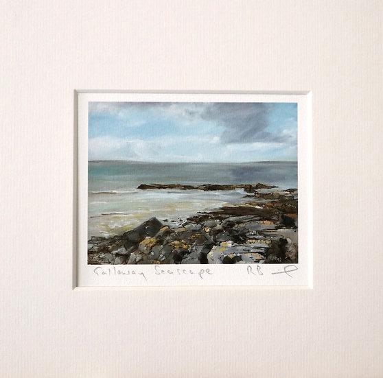 Galloway Seascape mini print