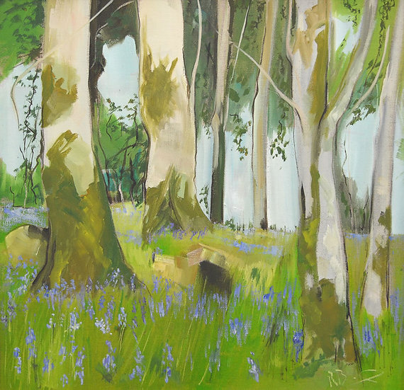 """Bluebells Galloway"" Richard Brinley Limited edition Print"
