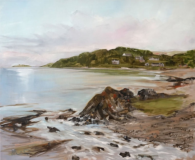 """Dhoon Bay from Nunn Mill , Kirkcudbright "" Richard Brinley Giclee Print"