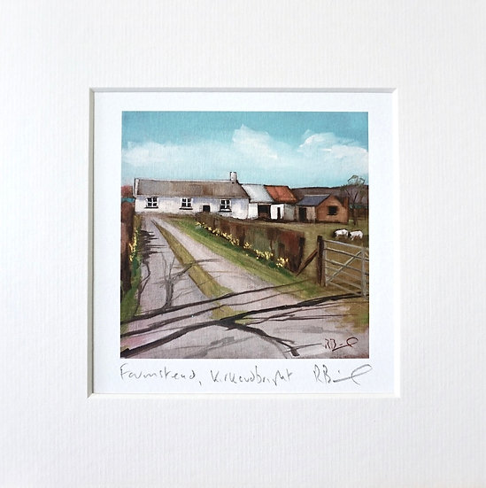 Farmstead Kirkcudbright mini print