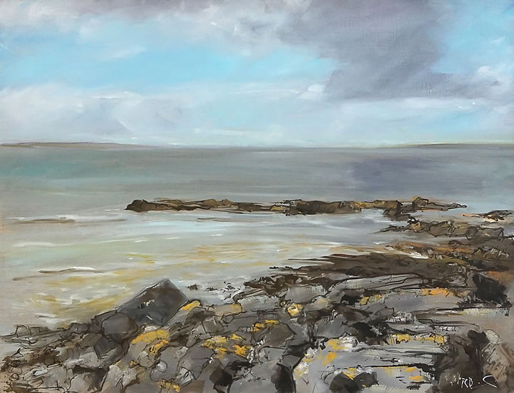 """Galloway Seascape"" Richard Brinley Giclee Print"