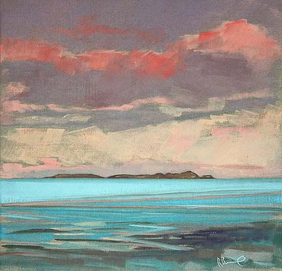 """ Fleet Bay Dusk ""  Richard Brinley mini Giclee print"