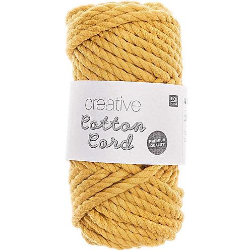 Makramee Garn Creative Cotton Cord - Senf