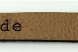 Label Bündchen 4, 78 x 9 mm Handmade, 10 St.