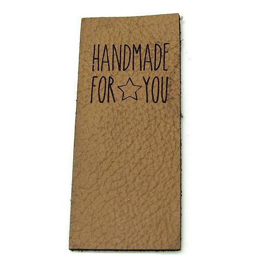 "10 Mützenlabel ""Handmade for you"""