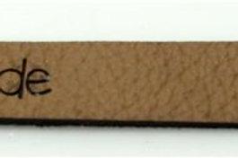 Label Bündchen 2, 78 x 9 mm Handmade, 10 St.