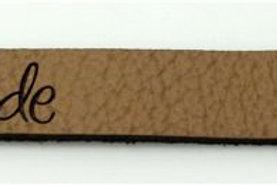 Label Bündchen 3, 78 x 9 mm Handmade, 10 St.