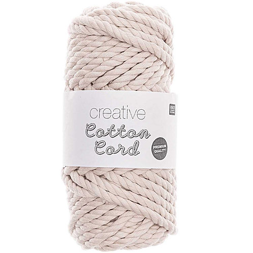 Makramee Garn Creative Cotton Cord - Natur