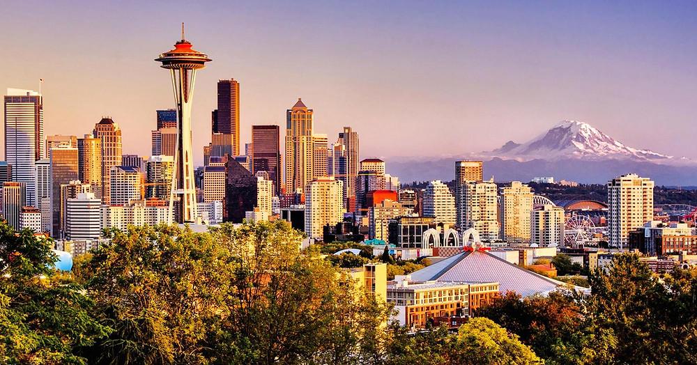 Desbravando Seattle