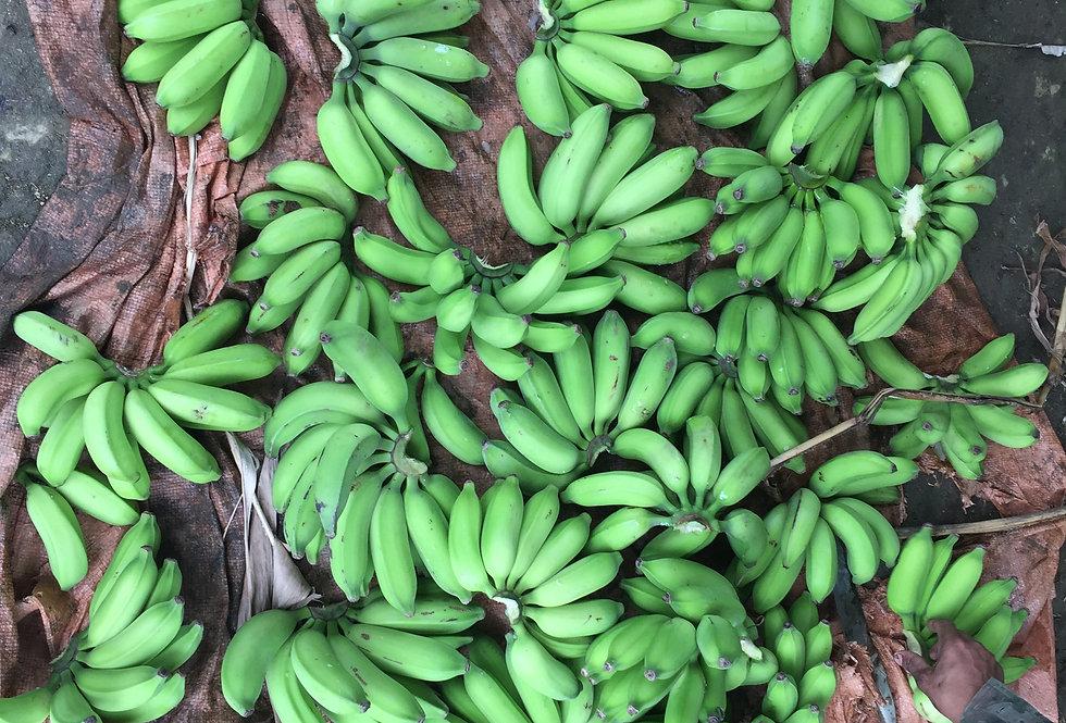 Banana prata verde (kg)
