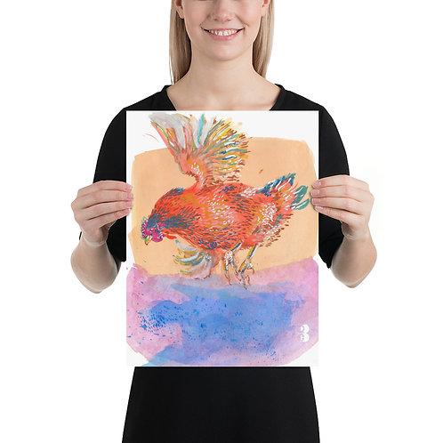 Orange Hen