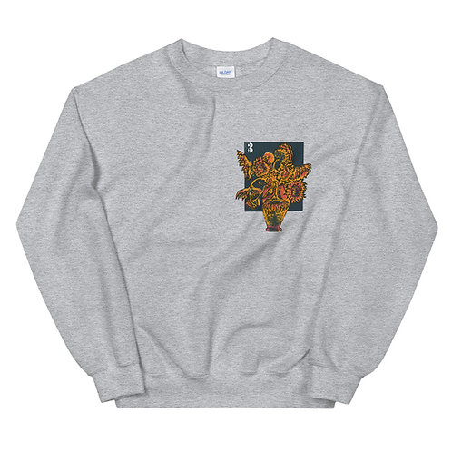 FLOWER POT Crew Neck
