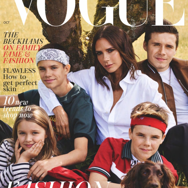 October 2018 British Vogue Issue