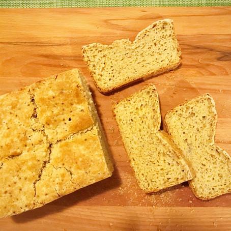 Bouncy Gluten-free Oat Loaf