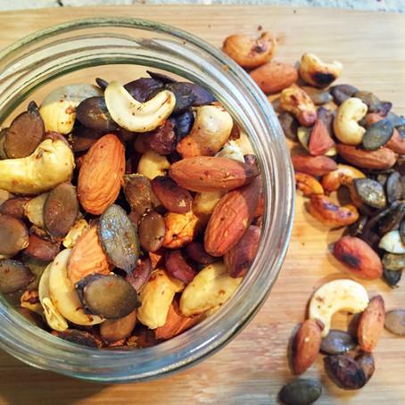 Zesty Nut Mix & Maple Glazed Almonds Recipes