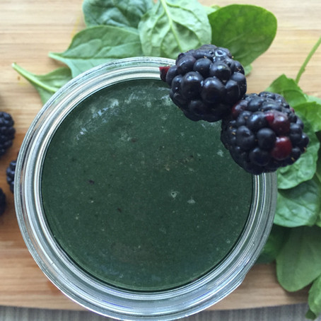 Berry Spinach Power Blend Smoothie