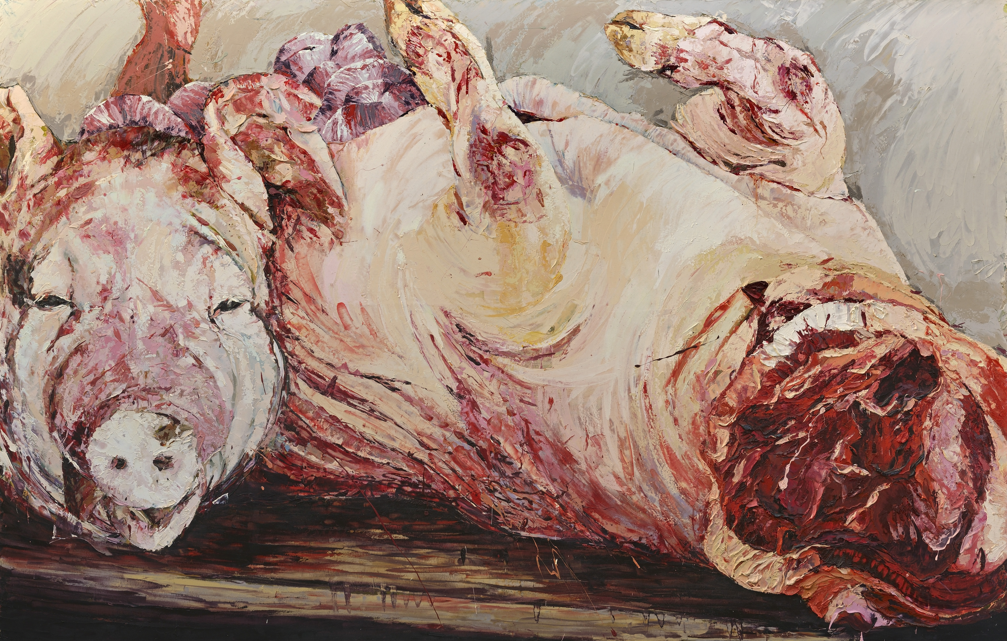 peggy viallat cochon