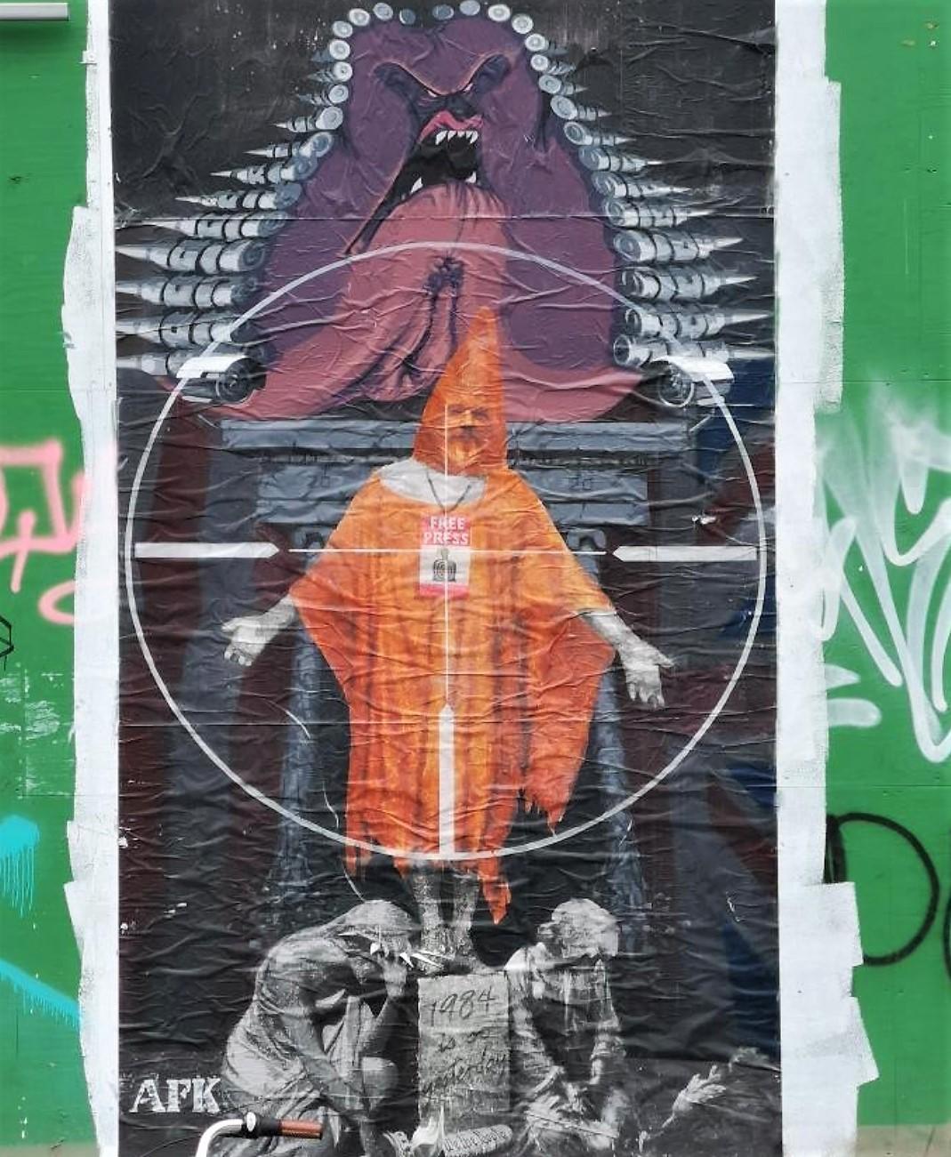 AFK Street art
