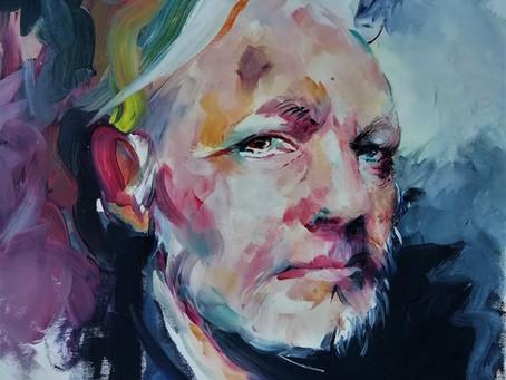 #freeassange #assangeact #portraitenlumiere