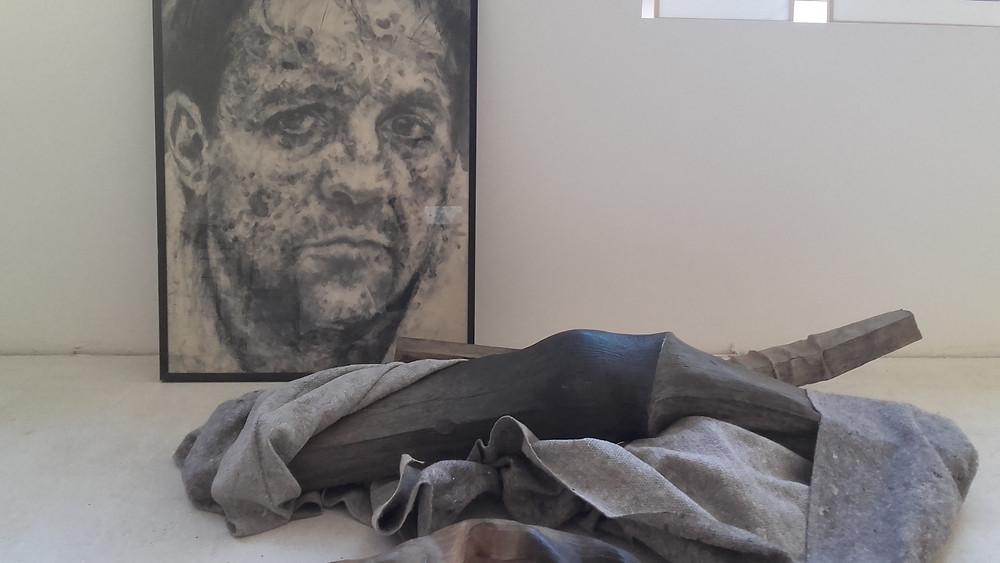 En Avril , exposition à Métamorphik Galerie , Ste Foy lès Lyon avec Romain Langlois