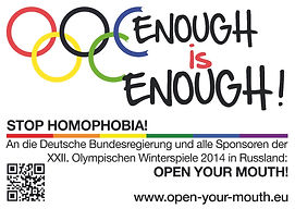Enough is enough, initiative, berlin, stop homophobia