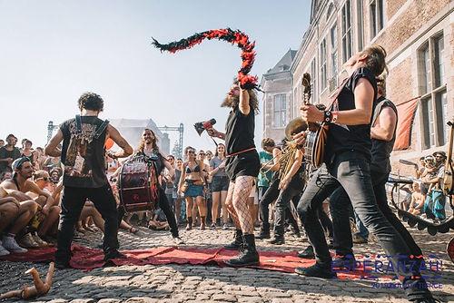 fanfare heavy metal de Belgique Kermesz a l est