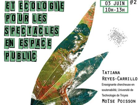 Rencontres Buissonnières #2 - Durabilité et écologie pour les spectacles en espace public